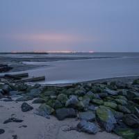 Emden, 1 uur voor zonsopkomst.