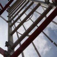 Ladder havenlicht Oudeschild (Texel)